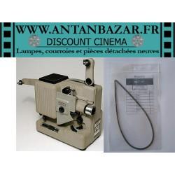 Courroie Eumig P8 Phonomatic - Courroie ressort bras ou axe recepteur pour Eumig P8 Phonomatic