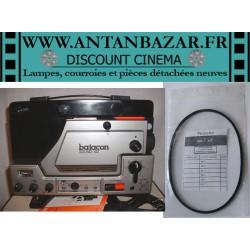 Kit 2 Courroies Batacon sound 102 - 1 Courroie moteur et 1 Courroie bobine pour Batacon sound 102