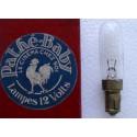 Lampe Pathe Baby 12v 0,5 amperes