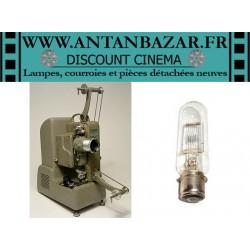 Lampe Cinegel Royal 215 - Ampoule Cinegel Royal 215 - Lampe pour projecteur Cinegel Royal 215 culot 28mm Tension 110V