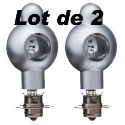 Lot de 2 Lampes Meopta Meolux 2