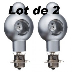 Lot de 2 Lampes Zeiss Ikon - Voightlander Movilux 8A, B, R