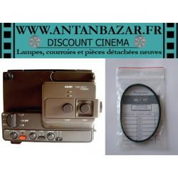 Courroie Bauer T280 - Courroie moteur rectangulaire pour Bauer T280