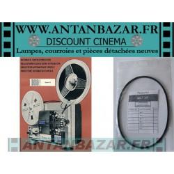 Courroie 660 SL - Courroie mecanisme bobine pour 660 SL