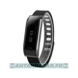 Bracelet Bluetooth Smart Fitness Noir