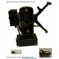 Lampe Pathe Super Coq d or 50W - Ampoule Pathe Super coq d or 50W