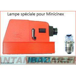 Lampe speciale minicinex avec loupe