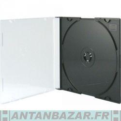 SlimCase étui mince pour 1 disque (CD DVD BD-R) Noir