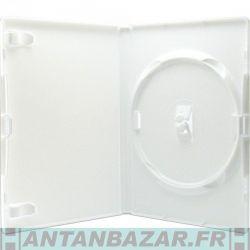 Boitier 1 disque (DVD CD BD-R) Blanc