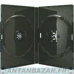 Boitier 2 disques (DVD CD BD-R) Noir