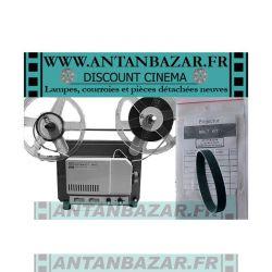 Kit 2 Courroies Kodak Instamatic M66 - 1 Courroie moteur et 1 Courroie bobine pour Kodak Instamatic M66