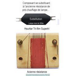 Resistance de substitution Heurtier Supertri
