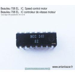 Circuit integre controleur de vitesse moteur pour Beaulieu 708 EL