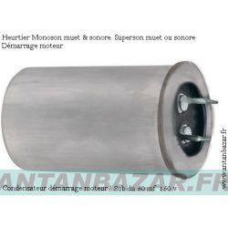 Condensateur moteur de substitution pour Heurtier monoson et superson - Condo demarrage Heurtier monoson et superson