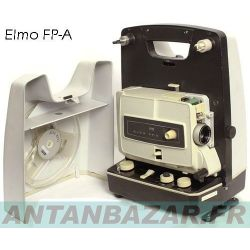Kit 2 Courroies pour Elmo FPA moteur et mecanisme bobines rondes