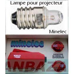 Lampe speciale minelec avec loupe