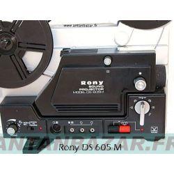 Kit 2 courroies Rony DS 605 et 605M courroie bras et courroie axes bobines