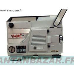 Kit 4 courroies Imac 420 NV. Courroie moteur et ventilateur et bras avant et courroie mecanisme bobines