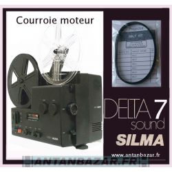 Courroie Silma Delta 7 - Courroie moteur