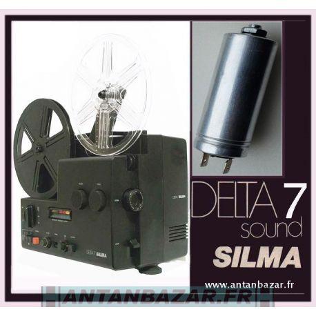 Condensateur moteur pour Silma Delta 7 - Condo moteur Silma Delta 7