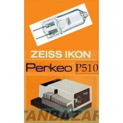 Lampe Zeiss Ikon Perkeo P510 - Ampoule Zeiss Ikon Perkeo P510 - Lampe pour projecteur Zeiss Ikon Perkeo P510