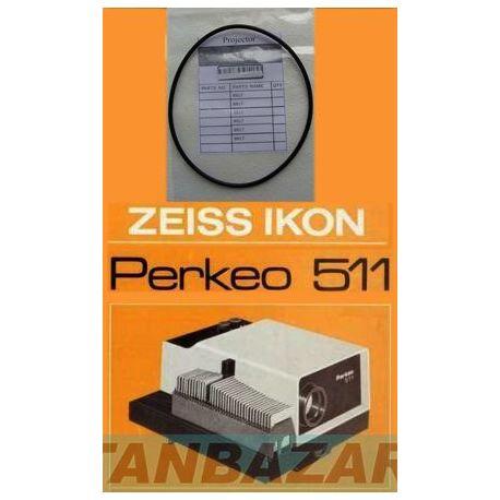 Courroie moteur Zeiss Ikon Perkeo 511 projecteur Zeiss Ikon Perkeo 511