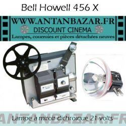 Lampe Bell et Howell 456X - Ampoule Bell et Howell 456X - Lampe pour projecteur Bell et Howell 456X
