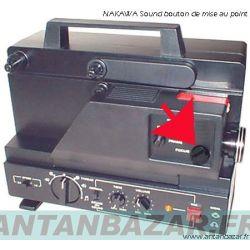 Bouton de mise au point pour projecteur Nakawa NK6S.