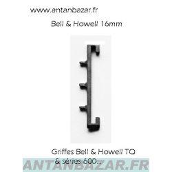 Griffe pour projecteur Bell et Howell 16mm 1592 / 1550 / 2585 / 2592 - Griffe neuve