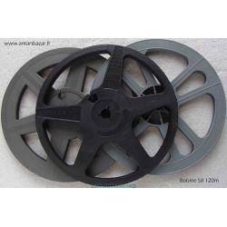 Bobine Super 8 120m - Ø 17,5 cm - Vide neuve en plastique