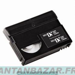 Cassette de nettoyage mini DV Sony