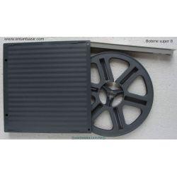 Bobine Super 8 60m automatique - Ø 13 cm avec boite - Vide neuve en plastique