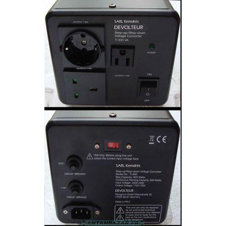 Transformateur Dévolteur 800VA pour projecteurs