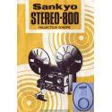 Kit 2 courroies Sankyo stereo 800 - courroies moteur et mecanisme bobine