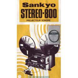 Courroie Sankyo stereo 800 - courroie bras debiteur