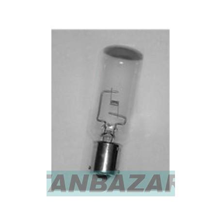 Lampe a baionnette culot 15mm 2 ergots 12v 100w