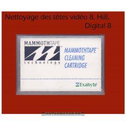Cassette HI8 - 8mm - digital 8 de nettoyage des tetes -