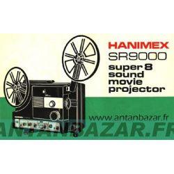 Courroie Hanimex SR 9000. Courroie ressort de mecanisme bobine pour Hanimex SR9000